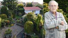 Pensioner, 90, furious over neighbour's 13ft 'shed' which looms over his garden