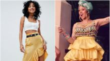 Here's how to copy Cardi B's incredibly fierce outfits from her I Like It music video