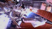 Space station power upgrades nearly finished after spacewalk