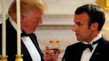 Trump toasts 'remarkable' U.S.-France ties at Macron state dinner