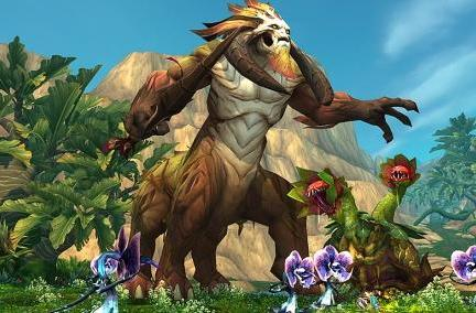 World of Warcraft previews the creatures of Gorgrond