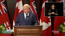 Coronavirus: Ontario investing $1B to expand COVID-19 testing capacity, contact tracing, Ford says