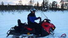 Travel on Trial: Racing through a winter wonderland on a snowmobile in Finnish Lapland