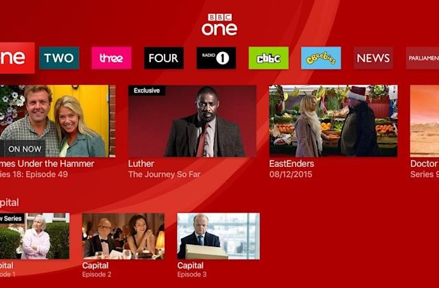 BBC iPlayer comes to the Apple TV