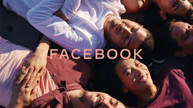 Facebook hopes a new logo will distract you from its problems