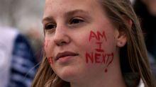 Gun-control activists rally near Columbine High School ahead of walkouts