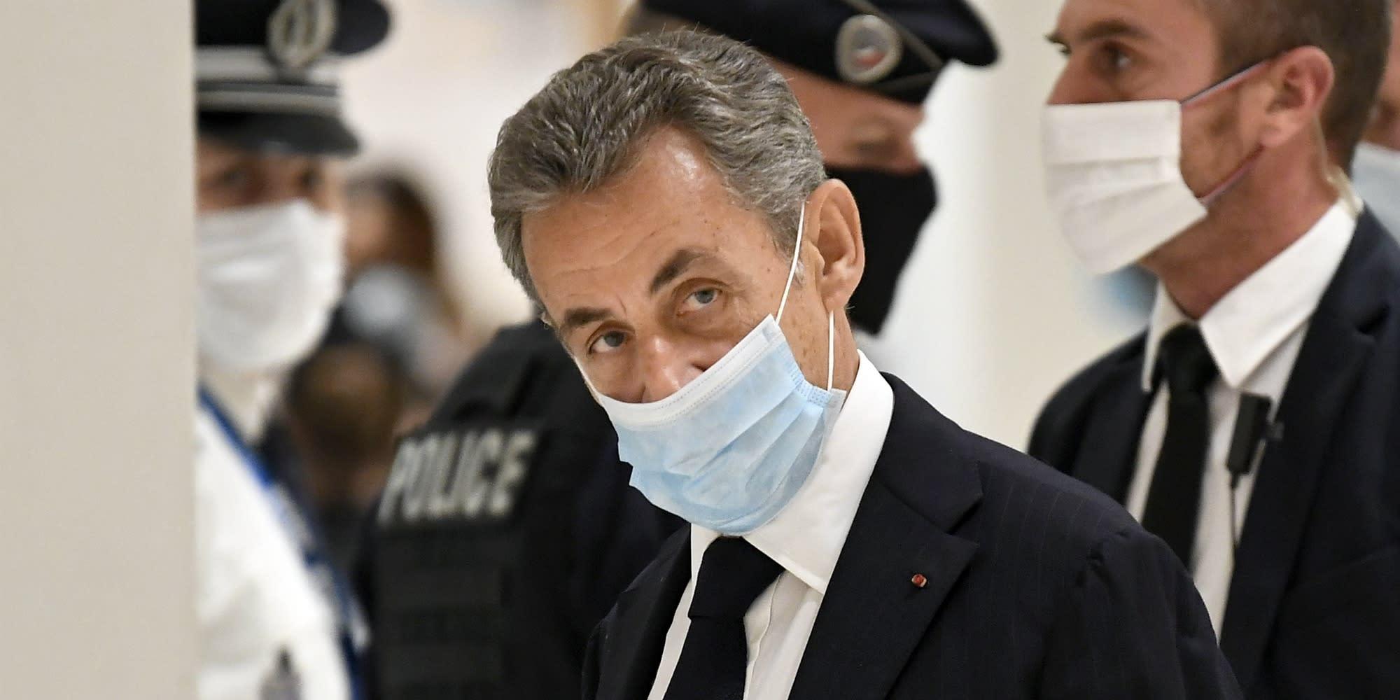 """Affaire Paul Bismuth : à la reprise de son procès, Nicolas Sarkozy dénonce des """"infamies"""""""