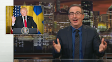 John Oliver actually agrees with Trump on something: 'Just absolutely right'