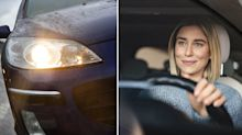 The common headlight mistake that could cost you a $112 fine