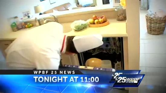 Monday on WPBF 25 News at 11: The Chef's Challenge