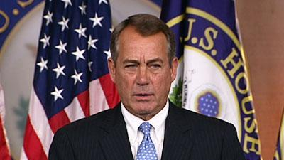 Boehner: House to vote on AG contempt next week