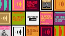 Pandora Stories launches, combining music and podcasting in a new format