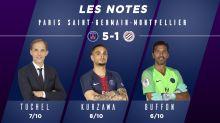 PSG-Montpellier (5-1) : les notes des Parisiens