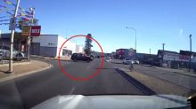 'Very avoidable': Crash divides opinion after driver pulls out in front of car