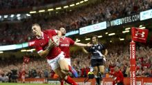 Wales top the world after beating England
