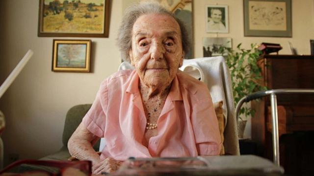 THE OLDEST HOLOCAUST SURVIVOR