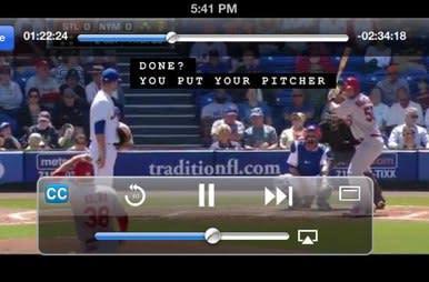 MLB.com At Bat app embraces iOS 7