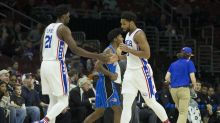 Joel Embiid to Jahlil Okafor after trade: 'Love you ... and I'm gonna kick your ass'