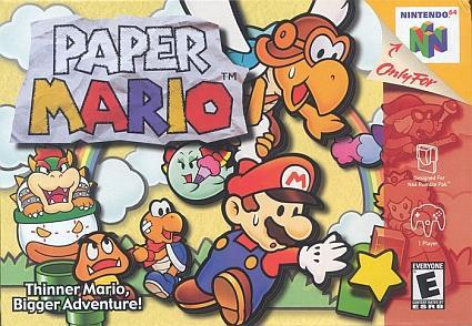 Paper Mario to be folded into Virtual Console