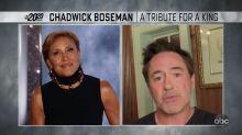 'Always humble, hardworking' Robert Downey Jr. pays tribute to Chadwick Boseman
