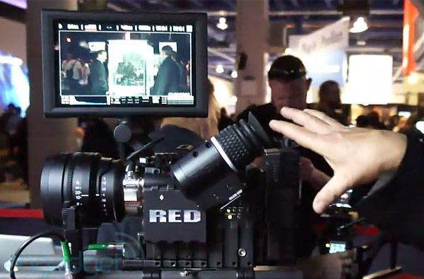 RED 9-inch touchscreen, OLED EVF and Meizler Module eyes-on (video)