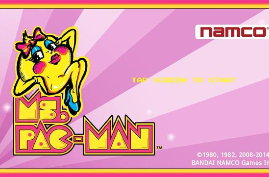 Play Ms. Pac-Man on iOS in October and help fight breast cancer