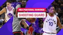 Top 15 NBA shooting guards for 2017-18: It's James Harden, then everyone else
