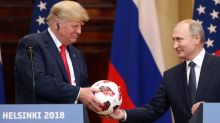 Can Trump Give Barron the Soccer Ball He Got From Putin? It's Complicated