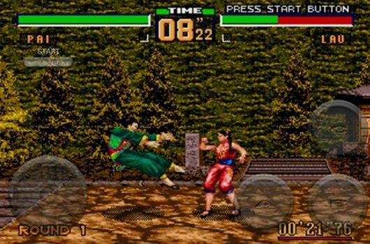 The worst version of Virtua Fighter 2 now on iPhone