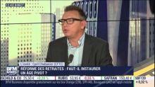 """Déficit du régime des retraites: """"un effet d'annonce pour inquiéter"""", estime le patron de la CFTC"""
