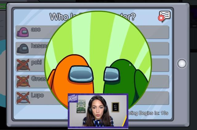 AOC will return to Twitch tonight for another round of 'Among Us'