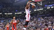 Raptors surge past Wizards in critical Game 5