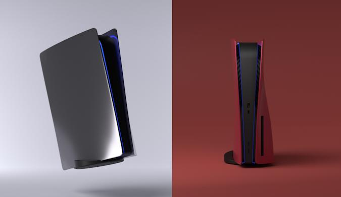 The first 'Platestation' custom covers help change the color of your (otherwise) White PS5 are here.