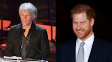 Prince Harry confirms Jon Bon Jovi will record Invictus Games song with jokey text exchange