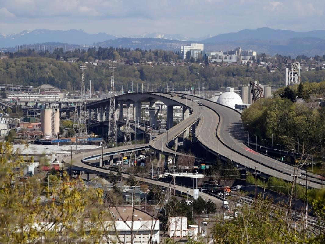 The bridge, a 590-foot long span that arches 140 feet above the Duwamish Waterway, will remain closed to traffic at least until 2022 because of the prolonged efforts needed to first brace and then repair the cracking concrete main span.