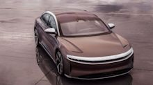 Lucid shows of an Air EV running the quarter-mile in 9.245 seconds