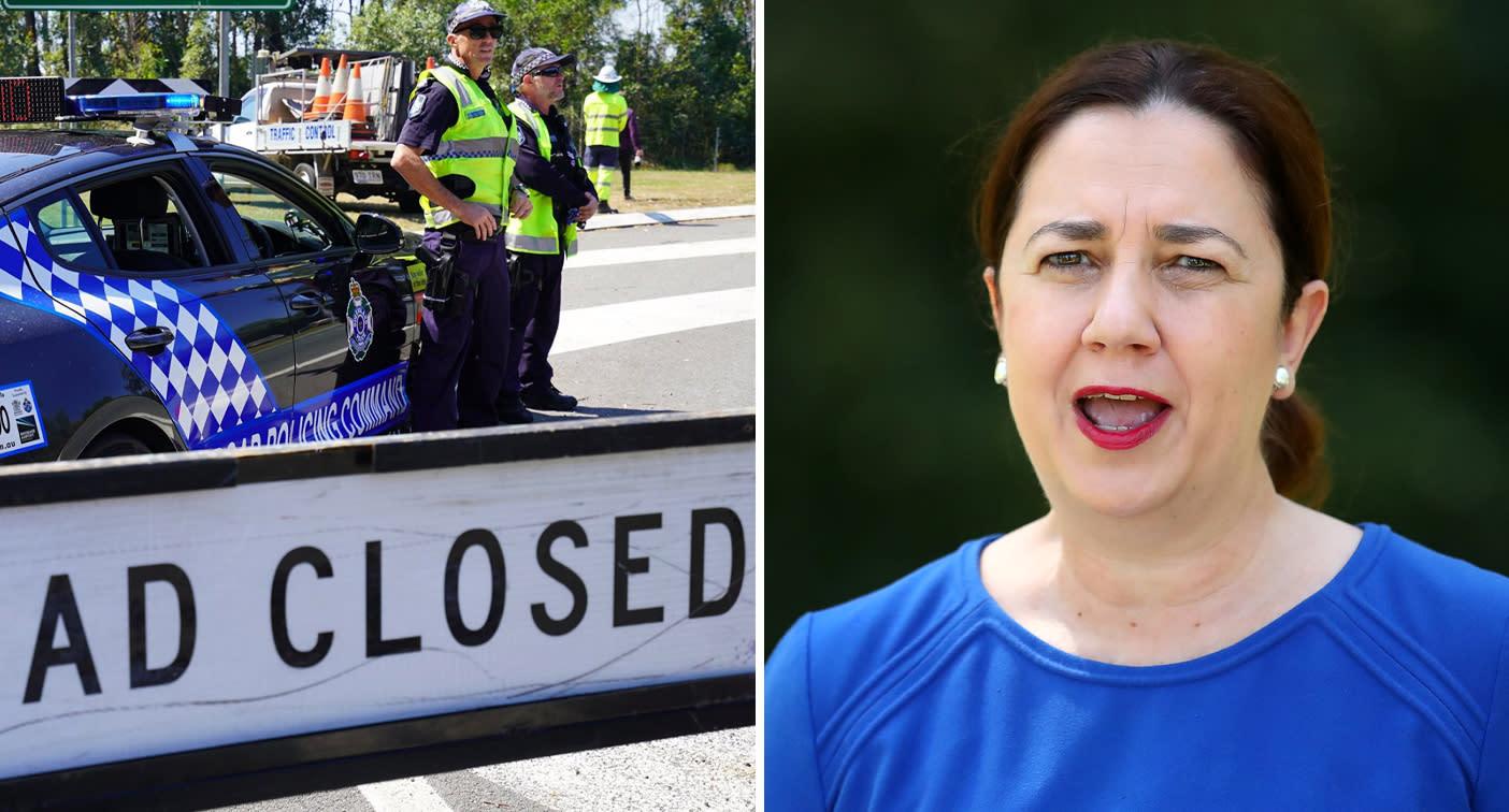 Queensland to police strict border closure