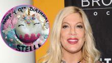 Inside Tori Spelling's lavish unicorn party for daughter Stella