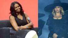 Michelle Obama Recreates Beyoncé's 'Formation' Look