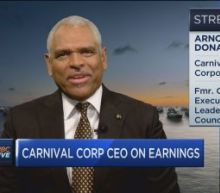 Carnival CEO Arnold Donald: We see no weakness despite stock plunge