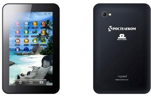 World's first GLONASS-enabled tablet unveiled in Russia, plays nice with GPS