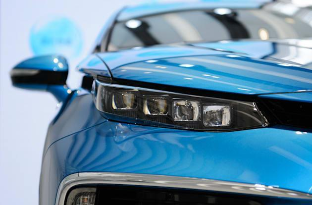 Toyota's hydrogen car to sell on just eight lots come October