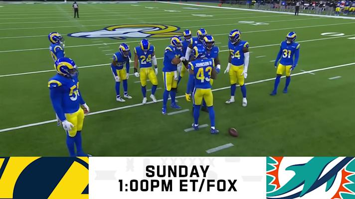Rams vs. Dolphins preview | Week 8