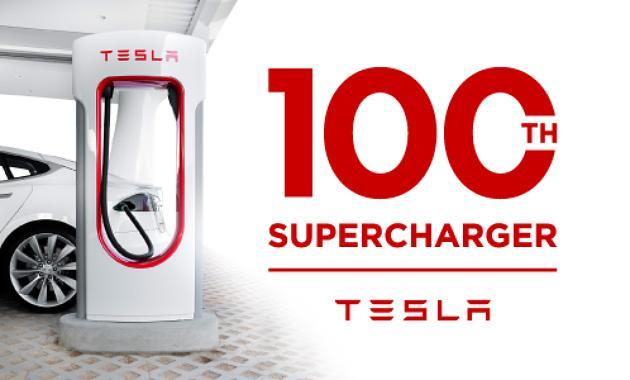 Tesla opens 100th Supercharger... in a state where sales are banned