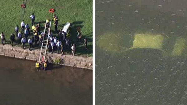 Woman intentionally drove car into the Schuylkill River, police say