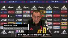 """Serie A: Sarri : """"Mon seul objectif est le championnat pour l'instant"""""""
