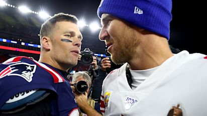 Eli says Brady's still salty about Super Bowl losses