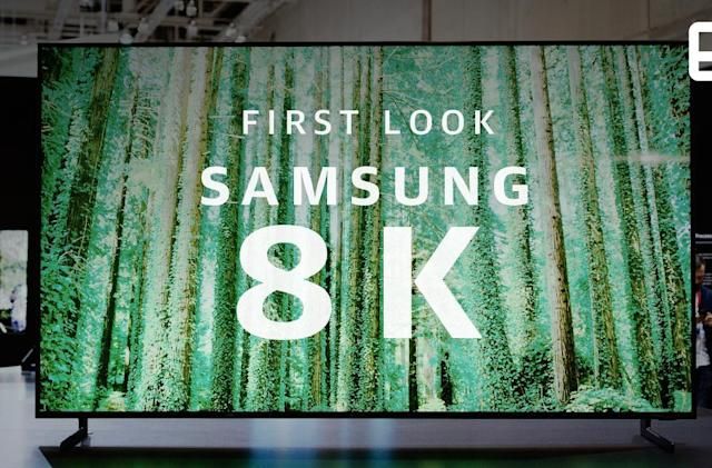 Samsung's 8K QLED TV looks great, but who needs it?