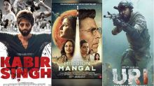 Box-Office Report Card: Boosted By Kabir Singh, Mission Mangal, Uri Bollywood's Collective Collections Touch RS 3000 CRORE
