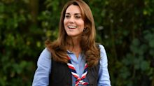 Kate Middleton surprised a group of Scouts wearing her trusty $357 boots - here's how to get the look